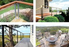 The Spectrum System is an easy to use universal cable guard railing product. It is designed for use with a customer supplied hard wood top railing. Glass Railing System, Cable Railing Systems, Led Light Bars, Led Light Strips, Bar Lighting, Strip Lighting, Cable Grommet, Stainless Steel Gate, Flexible Led Light