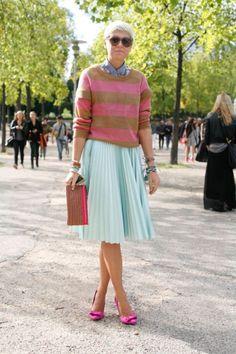 Elisa Natin at Paris Fashion Week #pfw #paris #streetstyle #elisanatin