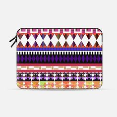 Cute Modern Tribal Macbook Pro Sleeve by Organic Saturation | Casetify Get $10 off using code: 53ZPEA