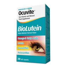 Ocuvite BioLutein eye health supplement from Bausch and Lomb