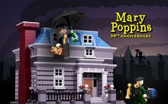 LEGO Ideas - If you like Legos and Mary Poppins, you may want to vote for this set at ideas.Lego.com for Mary Poppins' 50th anniversary.
