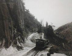 Trem no Morro do Corcovado 1906