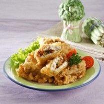 TAHU GORENG ISI KORNET SAYURAN http://www.sajiansedap.com/mobile/detail/14012/tahu-goreng-isi-kornet-sayuran