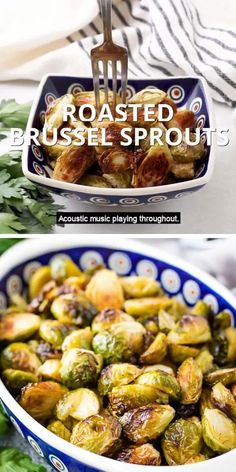 All you need are four ingredients to make the best oven roasted Brussel sprouts. Nothing complicated, just a delicious, simple side dish. #morethanmeatandpotatoes Yummy Vegetable Recipes, Sprout Recipes, Potato Recipes, Beef Recipes, Vegetarian Recipes, Cooking Recipes, Healthy Recipes, Brussel Sprouts Recipe Oven, Roast Frozen Brussel Sprouts