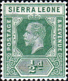 Sierra Leone 1912 King George V VII SG 112 Fine Used Scott 103 Other African Stamps HERE