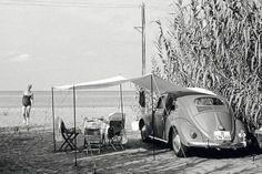 VW beach side