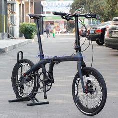 "JAVA AIR 20"" 406 Carbon Folding Bike Mini velo Bicycle Urban Commuter Bike Disc Brakes APEX 10S"