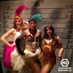 The ladies stole the night.  Pinups and Burlesque 2014.  The Iron Horse Hotel in Milwaukee, WI
