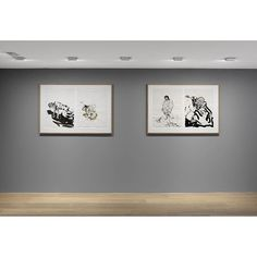 """""""""""A drawing is always naked."""" —#GeorgBaselitz, """"Georg Baselitz: #VisitfromHokusai"""" at #GagosianGeneva will be on view until this Friday, March 18th.  __________ Image: """"Georg Baselitz: Visit from Hokusai,"""" installation view at Gagosian Gallery Geneva.  Artworks © Georg Baselitz, photo by Annik Wetter"""" Photo taken by @gagosiangallery on Instagram, pinned via the InstaPin iOS App! http://www.instapinapp.com (03/15/2016)"""