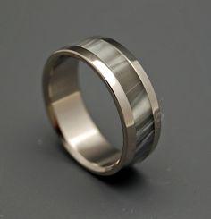 Unique Wedding Rings   Titanium Rings - Astaire   Titanium Rings   Minter + Richter