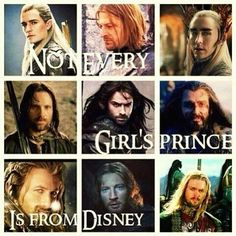 Yeah, but I'm pretty sure Legolas' dad wasn't originally male… just saying