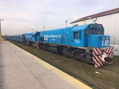 CRÓNICA FERROVIARIA: Línea Belgrano Norte: La transferencia de material...