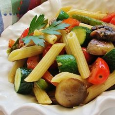 A colorful, healthy way to enjoy the last of your farmers market veggies.  Allrecipes.com