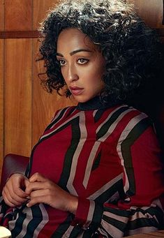 Ruth Negga. She was born in 1982 in Addis Ababa, Ethiopia. She has starred in many tv shows and some movies.