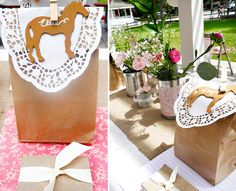 Shabby-Chic Vintage Pony Birthday Party // Hostess with the Mostess®