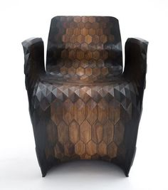 Armchair by Joris Laarman Lab. How to use 3D printing to turn your house into an urban crib - Blog - CGTrader.com