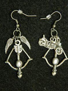 Daryl Dixon Inspired Earrings The Walking Dead by 1NerdCreations, $11.89