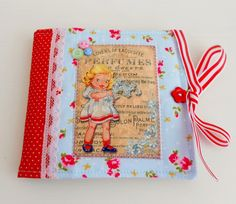 Retro Inspired Needle Book by picocrafts on Etsy, $7.80