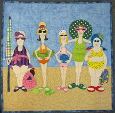 Amy Bradley bathing beauty quilt