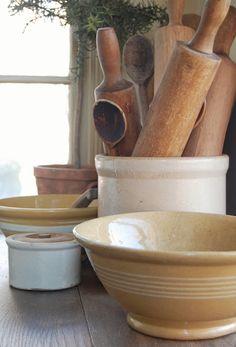 Yellowware bowls