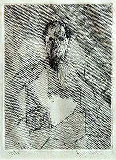 Jacques Villon, 1875-1963. Etching