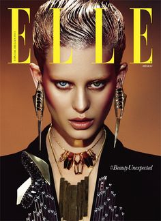 covershot for ELLE Magazine photographed by TAKAHIRO OGAWA #cover #elle #ellemagazine #covershooting #takahiroogawa #takahiroogawaphotography #photography #photographer #model #shooting #jewelry #factorydowntown #beauty #makeup #makeupinspiration #inspiration #contouring #perfectcontour