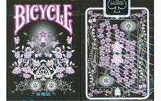 Bicycle Transducer Night Sakura Edition Playing Cards. $9.95. #playingcards #poker #games #magic
