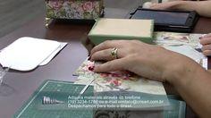Mulher.com 10/10/2014 - Caixa Scrap por Marisa Magalhães Parte 1