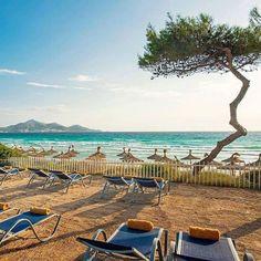 Iberostar Playa de Muro Village in Majorca Spain is #HotelGoals!  Located at Playa de Muro Beach a 2016 #TravelersChoice award-winning beach this hotel is also bookable on TripAdvisor for an average nightly rate of $358. Hotels-live.com via