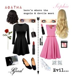 """The School for Good and Evil"" by therealgracekelly ❤ liked on Polyvore"