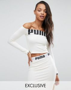 Puma Exclusive to Strapless Top with Logo Vanilla Sky Women's Tops, puma ballerina, Best Sales, Buy Autumn Puma Order Winter, Puma New Collections