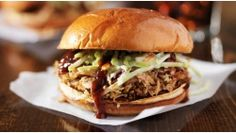 Slow cooked pulled pork Mexican flavour