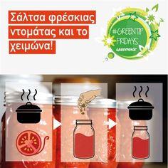 Σάλτσα φρέσκιας ντομάτας και το χειμώνα! | Ελλάδα