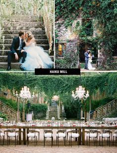 Would love to get married in one of these locations. The Haiku MIll in Maui is #1 though.