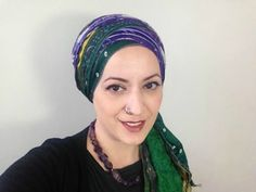 Zig-Zag with Sari Scarves? Oh, YES! | The Wrapunzel Blog