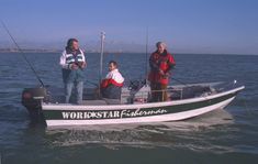 Workstar Plywood and epoxy boat building using the Prefix Kit System. Three Workstar 17 models: Explorer, Fisherman and Rescue. Wooden Boat Building, Prefixes, Power Boats, Wooden Boats, Plywood, Epoxy, Fishing, Commercial, Platform