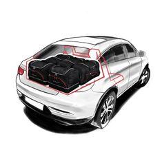 Autotasky.cz   Cestovní tašky do auta Box, Vehicles, Sports, Motor Car, Hs Sports, Boxes, Sport, Vehicle