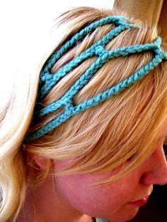 Crocheted headband   Flickr - Photo Sharing!