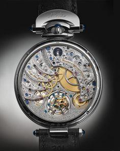 Las formas distintivas del Virtuoso VIII recuerdan inmediatamente los históricos relojes de bolsillo de BOVET.