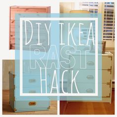 Attention to Darling: DIY Ikea Hack: Chic RAST Bedside Tables