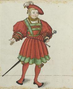 Historical Art, Historical Costume, Historical Clothing, Medieval Hats, Medieval Armor, Tudor Fashion, European Fashion, Mens Garb, 16th Century Clothing