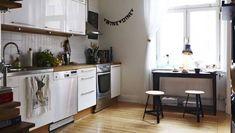 Home Interior Scandinavian Design Relief And Clean Accent Kitchen