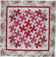 Free Twisted Pinwheel Quilt Pattern : Little Twister Ruler Free Patterns Cornucopia Pinwheel Twist - 018 Quilts Pinterest
