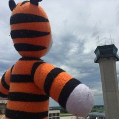 Little Boy Leaves His Toy Tiger in the Airport and Comes Back to Find He's Been on an Adventure