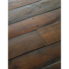 Antique French Oak Large Plank Wood Floors - traditional - wood flooring - - by Exquisite Surfaces Plank Flooring, Wooden Flooring, Flooring Ideas, Rustic Floors, Rustic Wood, Distressed Wood, Cork Flooring, Distressed Hardwood Floors, Old Wood Floors