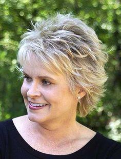 25 Short Hairstyles for Older Women | http://www.short-haircut.com/25-short-hairstyles-for-older-women.html