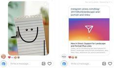 Yaklaşık 375 milyon aylık aktif kullanıcı sayısına sahip olan Instagram'ın kendi içerisinde mesajlaşmayı sağlayan Instagram Direct uygulaması yepyeni özelliklere kavuşarak çok daha eğlenceli bir kullanım şansı sunmaya başladı. Devamı için blogumuzu okuyun: