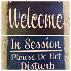 8x6 massage in session please do not disturb custom wood sign spa