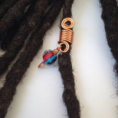 Dazzling Best Collection of Earrings Ideas. Ineffable Best Collection of Earrings Ideas. Dread Jewelry, Dread Beads, Hair Beads, I Love Jewelry, Faux Dreads, Dreadlocks, Natural Hair Art, Natural Hair Styles, Female Dreads