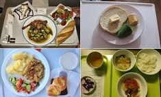 The hospital foods served to patients around the world
